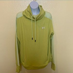 Under Armour Green Cowl Neck Sweater